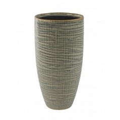 Кашпо Nieuwkoop Indoor pottery pot lotte светло-серого цвета