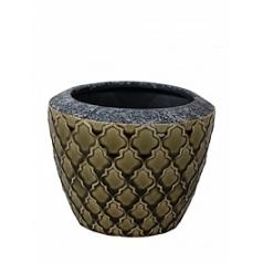 Кашпо Nieuwkoop Indoor pottery pot trento kaki