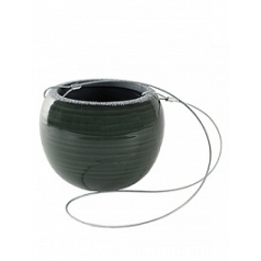 Подвесное Кашпо Nieuwkoop Indoor pottery hanger floor pine green