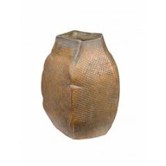Ваза Nieuwkoop Indoor pottery pot jolanda antique brown, коричнево-бурого цвета (colour of jaoine)