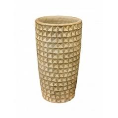Ваза Nieuwkoop Indoor pottery pot tanara grey, серого цвета wash