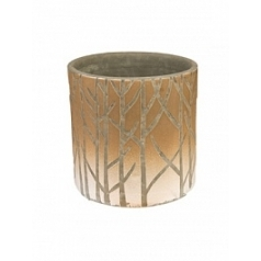 Ваза Nieuwkoop Indoor pottery vase farmstead antique bronze, бронзового цвета