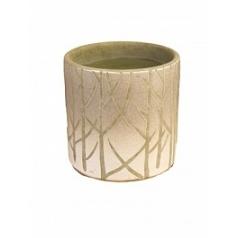 Ваза Nieuwkoop Indoor pottery vase farmstead winter gray