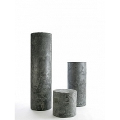 Пьедестал Nieuwkoop Indoor pottery column slate black, чёрного цвета