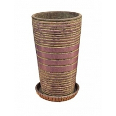Цветочный Горшок Nieuwkoop Indoor pottery planter dacari dusky orchid (with saucer)