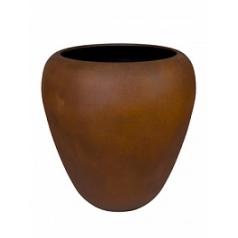 Кашпо Nieuwkoop Alegria egg without rim M размер rusted iron