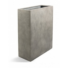 Кашпо Nieuwkoop D-lite high box L размер natural-фактура бетон