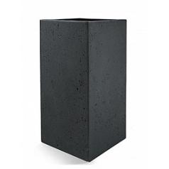 Кашпо Nieuwkoop D-lite high cube L размер anthracite, цвет антрацит-фактура бетон