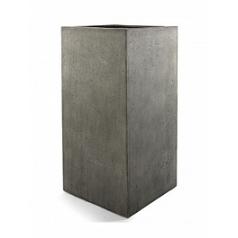 Кашпо Nieuwkoop D-lite high cube M размер natural-фактура бетон