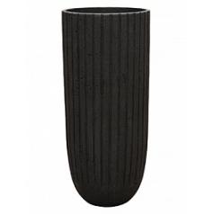 Кашпо Nieuwkoop Polystone lourdee cylinder smoke