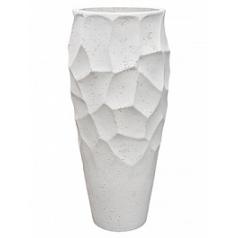 Кашпо Nieuwkoop Polystone nathan james planter white, белого цвета