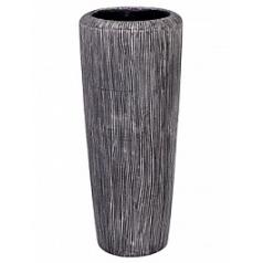 Кашпо Nieuwkoop Twist vase black, чёрного цвета