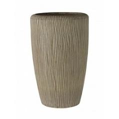 Кашпо Nieuwkoop Twist vase camel, желтовато-коричневого цвета