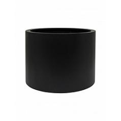 Кашпо Nieuwkoop Up2u round matt black, чёрного цвета