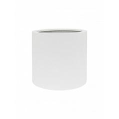 Кашпо Nieuwkoop Up2u round matt white, белого цвета