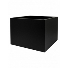 Кашпо Nieuwkoop Up2u square matt black, чёрного цвета