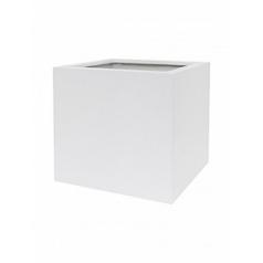 Кашпо Nieuwkoop Up2u square matt white, белого цвета