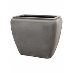 Кашпо Nieuwkoop Waterjar rectangle grey, серого цвета