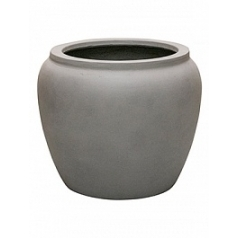 Кашпо Nieuwkoop Waterjar round grey, серого цвета