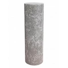 Пьедестал Nieuwkoop Polystone lava raw grey, серого цвета