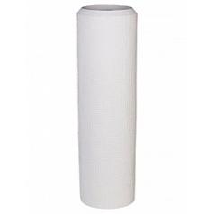 Кашпо Nieuwkoop Polystone alexi white, белого цвета l