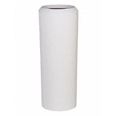 Кашпо Nieuwkoop Polystone alexi white, белого цвета m
