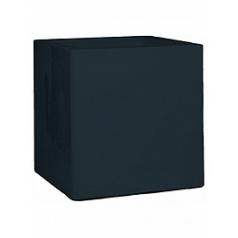 Кашпо Nieuwkoop Premium cubus anthracite, цвет антрацит grey, серого цвета