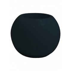 Кашпо Nieuwkoop Premium globe anthracite, цвет антрацит grey, серого цвета