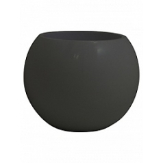 Кашпо Nieuwkoop Premium globe quartz grey, серого цвета