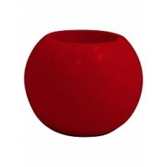 Кашпо Nieuwkoop Premium globe ruby red, красного цвета