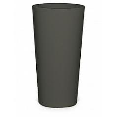 Кашпо Nieuwkoop Premium konus quartz grey, серого цвета