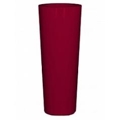 Кашпо Nieuwkoop Premium konus ruby red, красного цвета
