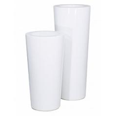 Кашпо Nieuwkoop Premium konus white, белого цвета