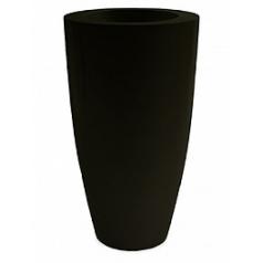 Кашпо Nieuwkoop Premium luna black, чёрного цвета