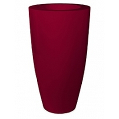 Кашпо Nieuwkoop Premium luna ruby red, красного цвета