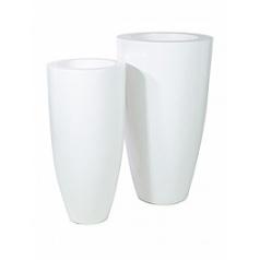 Кашпо Nieuwkoop Premium luna white, белого цвета