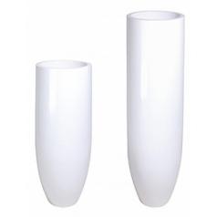 Кашпо Nieuwkoop Premium pandora white, белого цвета