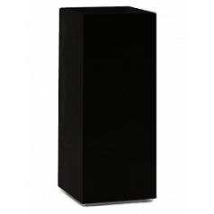 Кашпо Nieuwkoop Premium tower column black, чёрного цвета