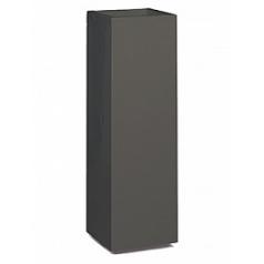 Кашпо Nieuwkoop Premium tower column quartz grey, серого цвета