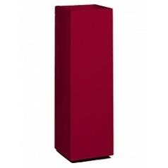 Кашпо Nieuwkoop Premium tower column ruby red, красного цвета