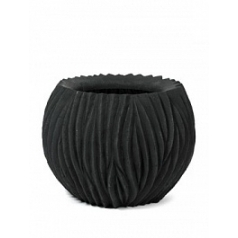 Кашпо Nieuwkoop River bowl black, чёрного цвета