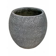 Кашпо Nieuwkoop Sebas (фактура под бетон) couple grey, серого цвета