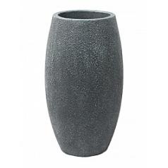 Кашпо Nieuwkoop Sebas (фактура под бетон) duo grey, серого цвета