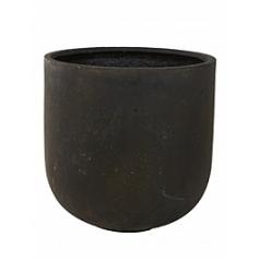 Кашпо Nieuwkoop Static (grc) couple black, чёрного цвета