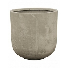 Кашпо Nieuwkoop Static (grc) couple grey, серого цвета