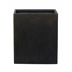Кашпо Nieuwkoop Static (grc) divider black, чёрного цвета