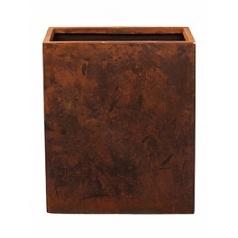 Кашпо Nieuwkoop Static (grc) divider rusty, ржавая фактура