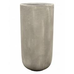 Кашпо Nieuwkoop Static (grc) partner grey, серого цвета