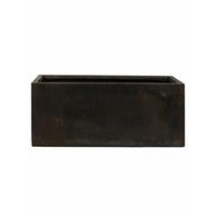 Кашпо Nieuwkoop Static (grc) rectangle black, чёрного цвета