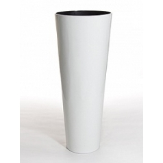 Кашпо Nieuwkoop Jaru white, белого цвета vase white, белого цвета lacquer